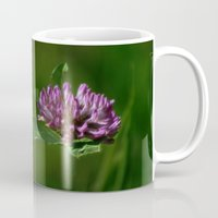 clover Mugs featuring Clover by Dorothy Pinder