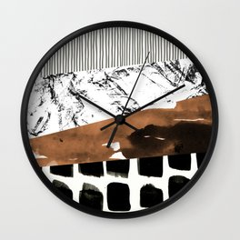 colage 01 Wall Clock