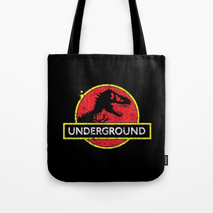 Monsters of the Underground Tote Bag