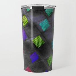 Square Color Travel Mug