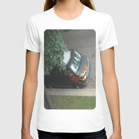 70s T-shirts featuring Smokin'! ~ 70s-ish van by helene smith photography