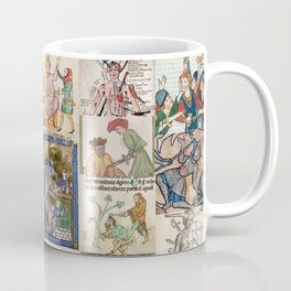 People Getting Stabbed in Medieval Manuscripts Coffee Mug