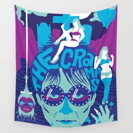 THE ROOTS OF HORROR ROCK :: THE CRAMPS Wall Tapestry