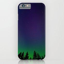 Aurora Synthwave #6 iPhone Case