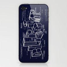 Blueprint iPhone & iPod Skin