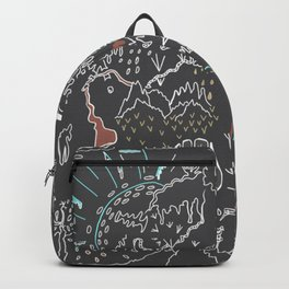 When We Were Small, And Fear Was Just a Memory. Backpack