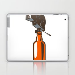 Vintage Camera on Beer Bottle Retro Laptop & iPad Skin