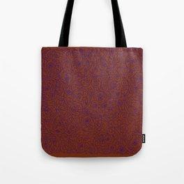 Swirls Pattern Tote Bag