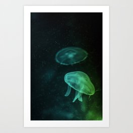 Sea Jelly Art Print
