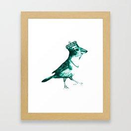 Crown Bird Framed Art Print