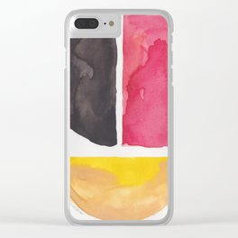 12     Imperfection   190325 Abstract Shapes Clear iPhone Case