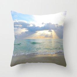 Beach #7 Throw Pillow