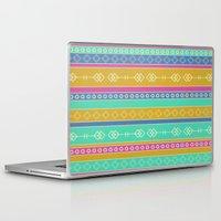 southwest Laptop & iPad Skins featuring Southwest Dawn by Rebecca L. Davis
