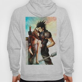 Zack and Aerith Hoody