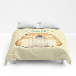 Hungry Hungry Hamster Comforters
