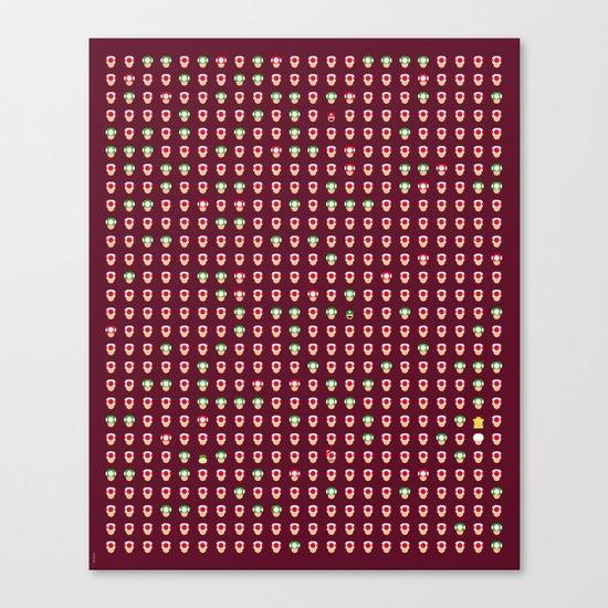 Mario Capsules Canvas Print