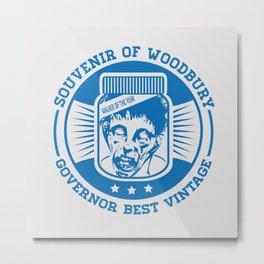 Walking dead - Souvenir of Woodbury Metal Print