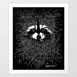 RACCOOL Art Print