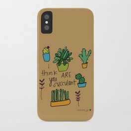 Plant Love. iPhone Case
