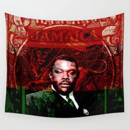 Marcus Garvey Black Nationalist Design Merchandise Wall Tapestry