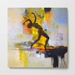 Dance among the colors Metal Print