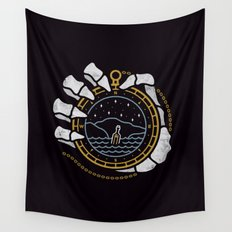 Dead in the Water Wall Tapestry
