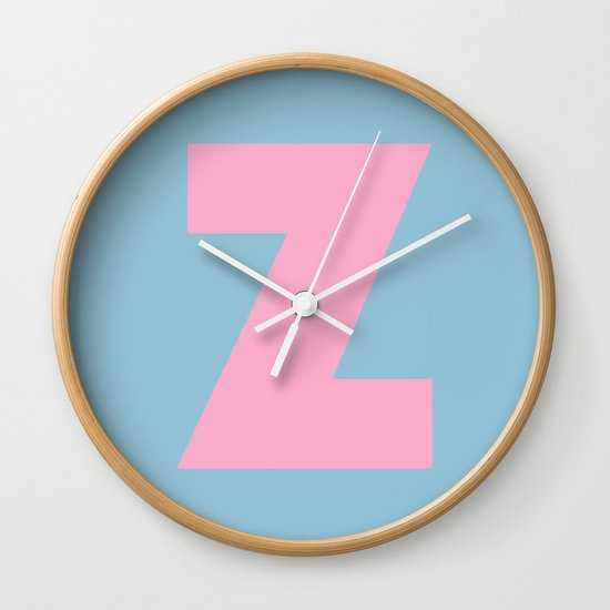 Z is for... Wall Clock