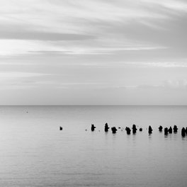 Notebook - BEACH DAYS XXVIII BW - xiari photography