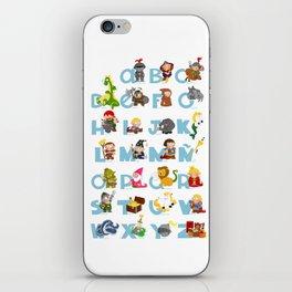 ABC  medieval (spanish) iPhone Skin