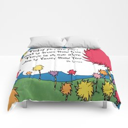 Lorax Quote Comforters