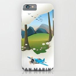San marino iPhone Case
