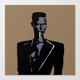 GRACE JONES NIGHTCLUBBING Canvas Print