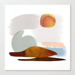 Modified - Danish Design - Seals on the beach Canvas Print