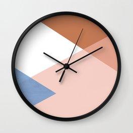 Geometrics - moroccan sky Wall Clock