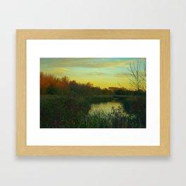 The Marsh Framed Art Print
