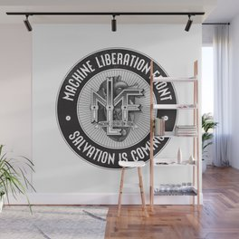 Machine Liberation Front Wall Mural