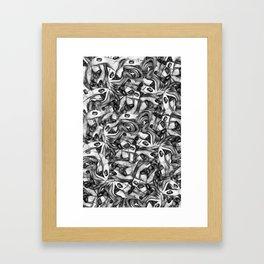 Eyes 4 Eyes Framed Art Print