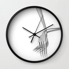 Hand in hand / Tomados de la mano Wall Clock