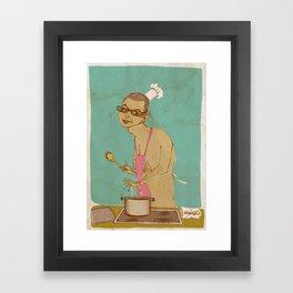 Chef Goldblum Makes it Especial Framed Art Print