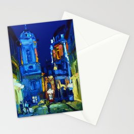 "Artwork ""Evening in Lviv"" Stationery Cards"