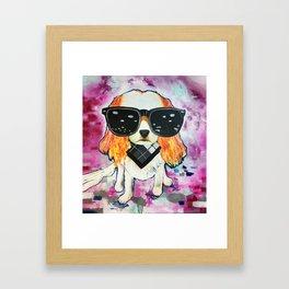 Puppy Pop 2 Framed Art Print