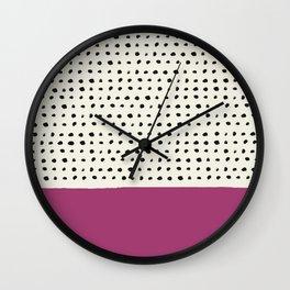 Raspberry x Dots Wall Clock