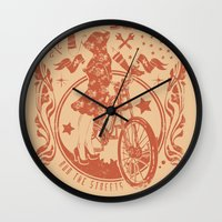 old school Wall Clocks featuring Old school by Tshirt-Factory