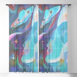 Universe Sheer Curtain
