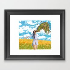 Primal Puke Framed Art Print