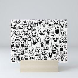Spooky Ghosts Mini Art Print