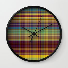Colorful Sarong 2 Wall Clock