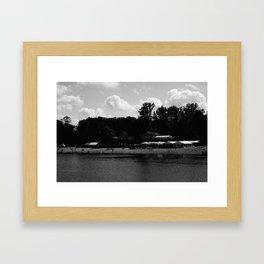 Plötzensee, Berlin, 2017 Framed Art Print