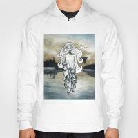 ghost Hoodies featuring Ghost by Steven Bossler