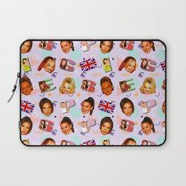 Spice Girls pattern art Laptop Sleeve